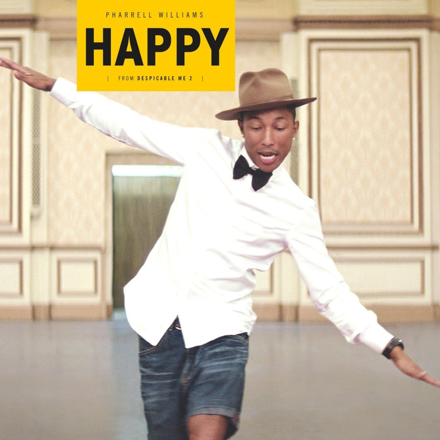 happy pharrell williams 谱子