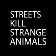 街道杀死奇怪的动物