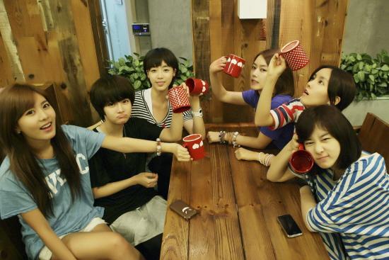 组合成员 t-ara
