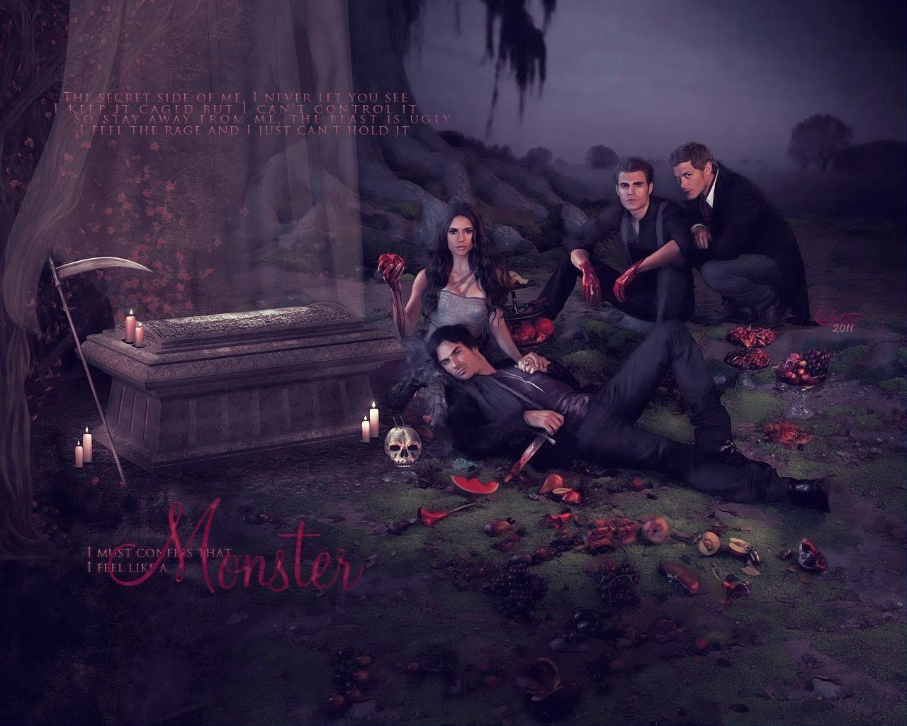 吸血鬼 日记/吸血鬼日记第4季(Vampire Diaries)上(E1/E11)