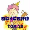 台湾新歌K歌排行榜单 第29周(2012/07/10~2012/07/16)