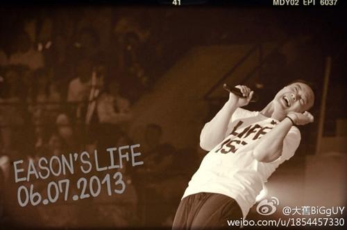 陈奕迅 2013 EASON S LIFE演唱会