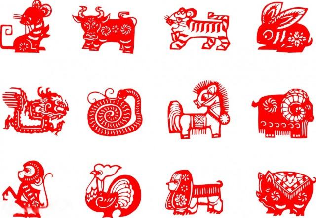 12生肖羊矢量图