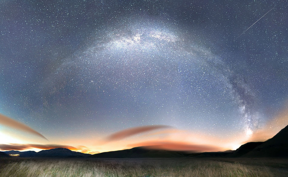 后摇 夜空繁星
