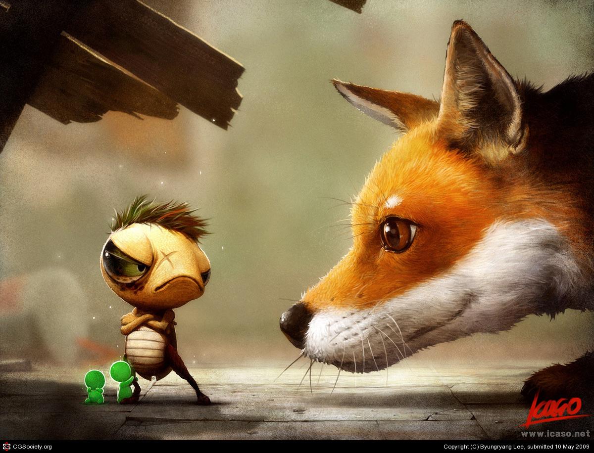 天才小小画家动物