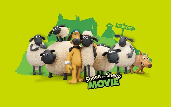 小羊肖恩:shaun the sheep图片